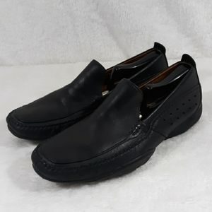 Timberland black slip on loafers mens 9.5